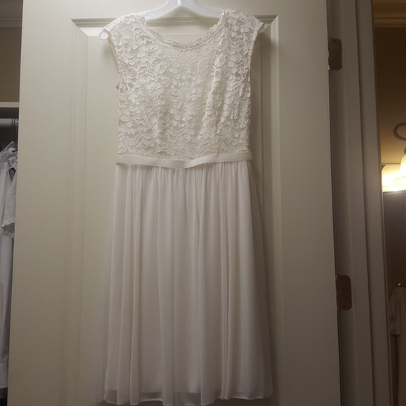 Davids Bridal Dresses Sweet And Simple Wedding Or Cocktail Dress